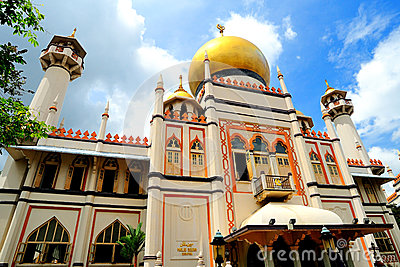 Sultan Mosque, Singapore. Editorial Image