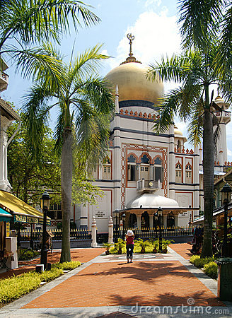Sultan Mosque Singapore Picture on Stock Image  Sultan Mosque Singapore  Image  3318251