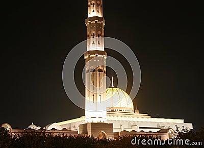Sultan Qaboos mosk in Oman