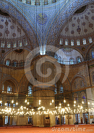 Sultanahmet Mosque (Blue Mosque).