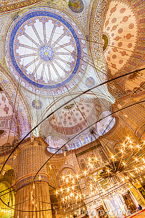 Free Sultanahmet Mosque (Blue Mosque) In Istanbul, Turkey Royalty Free Stock Images - 33049799