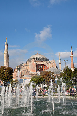 Sultanahmet square,Istanbul Editorial Photography