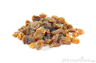 Sultanas isolated