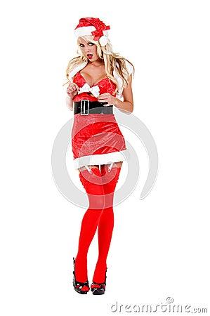 Sultry Christmas Helper Helper