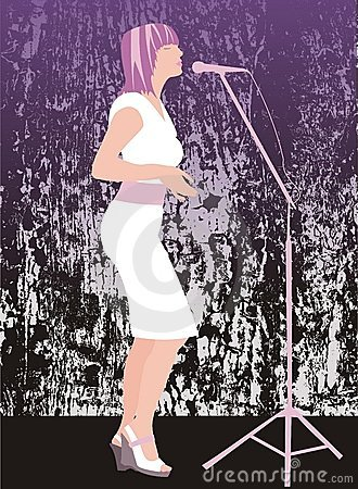 Sultry singer