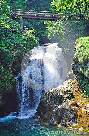 Sum Waterfall,Bled,julian alps,slovenia