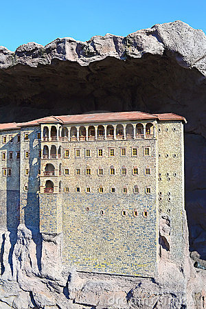Free Sumela Monastery Royalty Free Stock Photo - 22950975