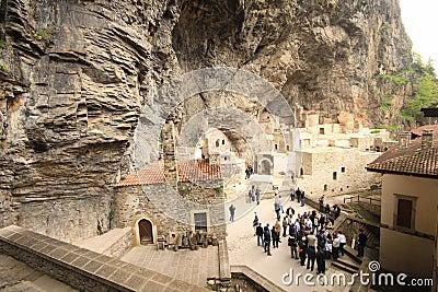 Sumela Monastery Editorial Stock Photo