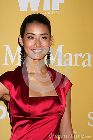 Sumire Matsubara arrives at the City of Hope s Music And Entertainment Industry Group Honors Bob Pittman Event Editorial Photography