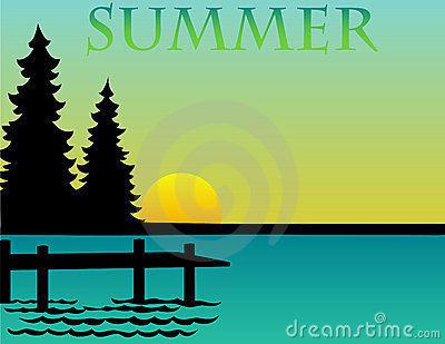 Summer Background/eps