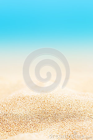 Free Summer Background - Sunny Beach With Golden Sand Stock Photography - 90852152