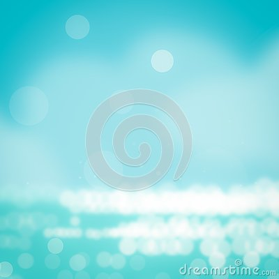 Free Summer Background Tropical Palm Leaves On Nature Blue Sky And Sea Background Stock Photography - 139127032