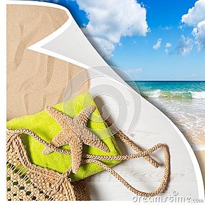 Summer Beach Basket