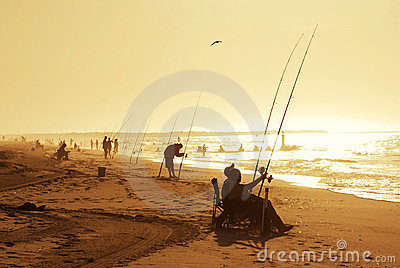 Summer Beach Fishing