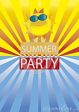 Free Summer Beach Party Stock Photos - 41322183