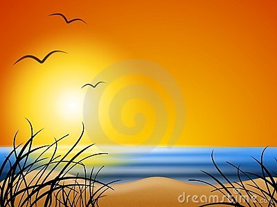 wallpaper summer beach. SUMMER BEACH SUNSET BACKGROUND