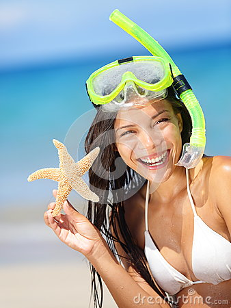 Summer beach vacation holidays woman