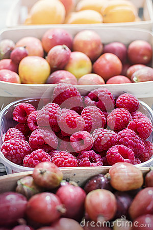 Free Summer Berries And Fruits Royalty Free Stock Photo - 74692645