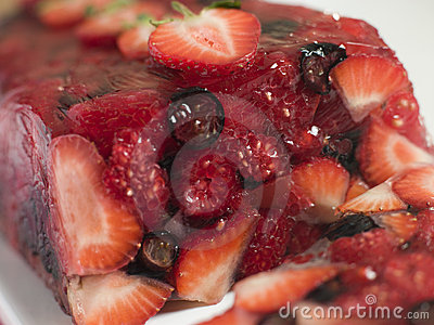 Summer Berry Jelly Terrine
