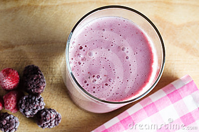 Summer Berry Soya Smoothie