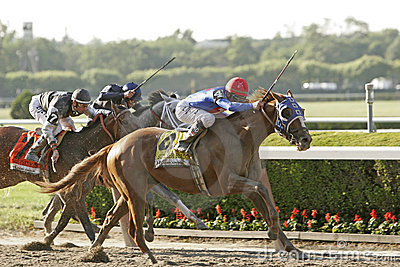 Summer Bird Wins The 2009 Belmont Stakes Editorial Image