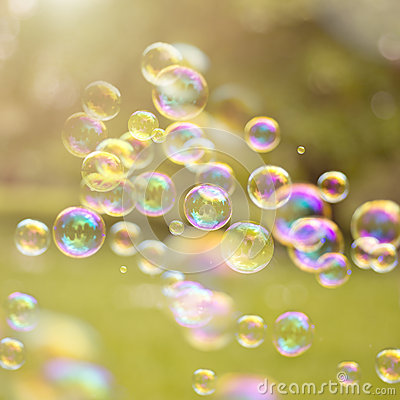 Free Summer Bubbles Royalty Free Stock Image - 31707096