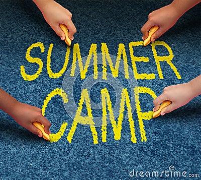 Free Summer Camp Royalty Free Stock Photo - 37428835