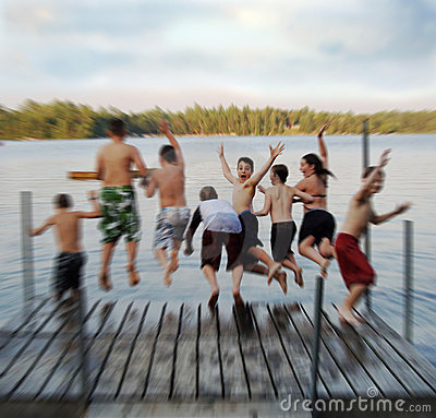 Free Summer Camp Blur Stock Photography - 6604842