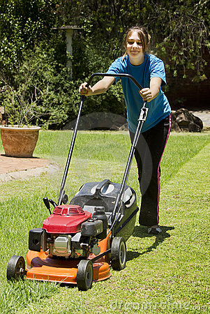 Summer Chores - Lawn Mowing