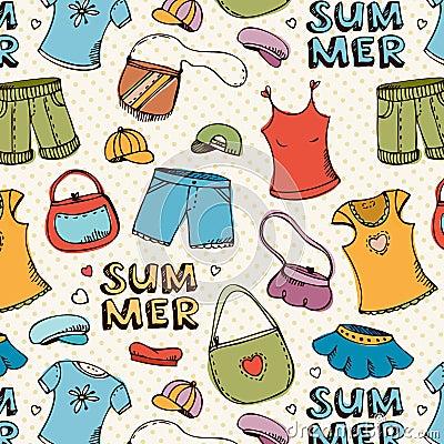 Summer clothing shopping pattern