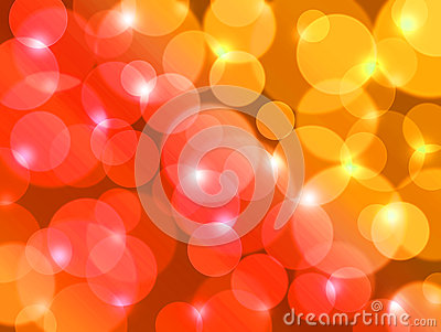 Summer colors for beautiful lens flare background.