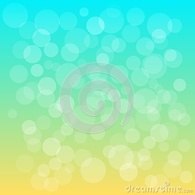 Summer decorative abstract background. Vector Cartoon Illustration