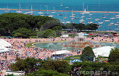 Summer Festival At the Lakefront
