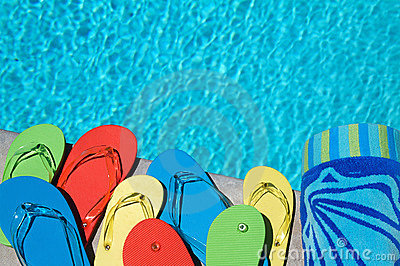 Summer Flipflops Stock Photography - Image: 14645832