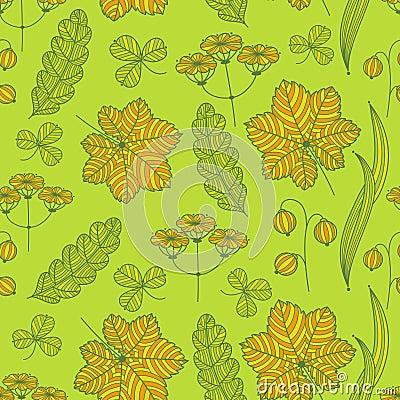 Summer grass pattern