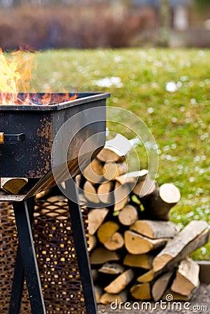 Summer grill