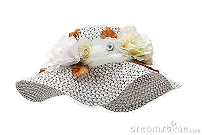 Summer hat, isolated