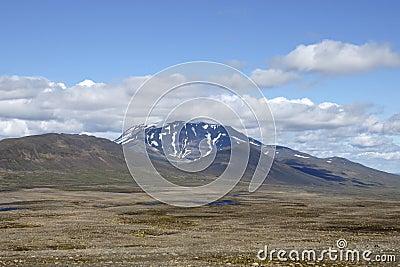 Summer highland landscape, Iceland.