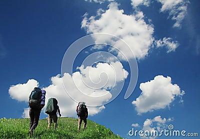 Summer hiking in Crimea