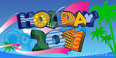 Summer Holiday 2011  3D Text