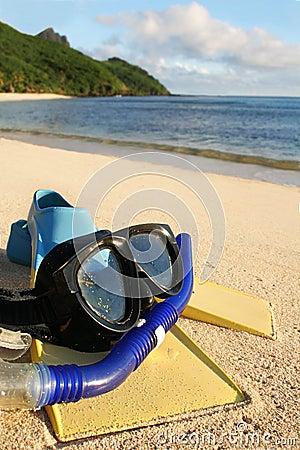 Summer holiday - snorkling