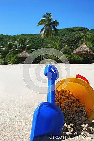 Summer holiday - tropical island