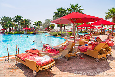 Summer holidays in Abu Dhabi, UAE Editorial Stock Image