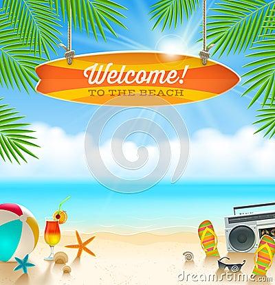 Free Summer Holidays Design Stock Images - 40289004