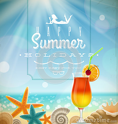 Free Summer Holidays Illustration Royalty Free Stock Photos - 29933888
