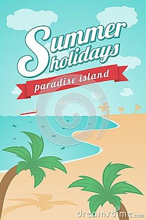 Summer Holidays - Paradise island