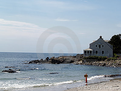 Summer home on the Ocean
