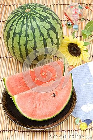 Summer image of japanese style