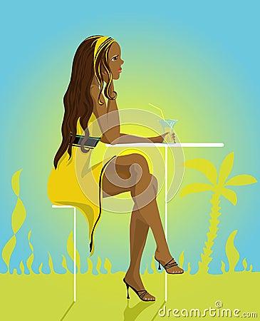 Free Summer Lady Stock Photos - 3792283