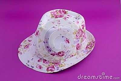 Summer lady hat